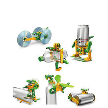 Science Toy Solar Energy Environmental Protection Six King Kong GE-616 Model Assembly DIY Puzzle Experiment Children's Gift(China)