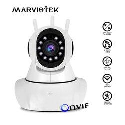 Câmera ip sem fio wifi p2p câmera de vigilância de vídeo cctv 1080 p monitor do bebê wi fi de segurança em casa gravação de áudio mini câmera hd ir