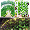 21 Style 1pc high quality Artificial plant Rattan ivy Creeper leaf Vivid Vine home Wedding wall decor garden festival decoration 4