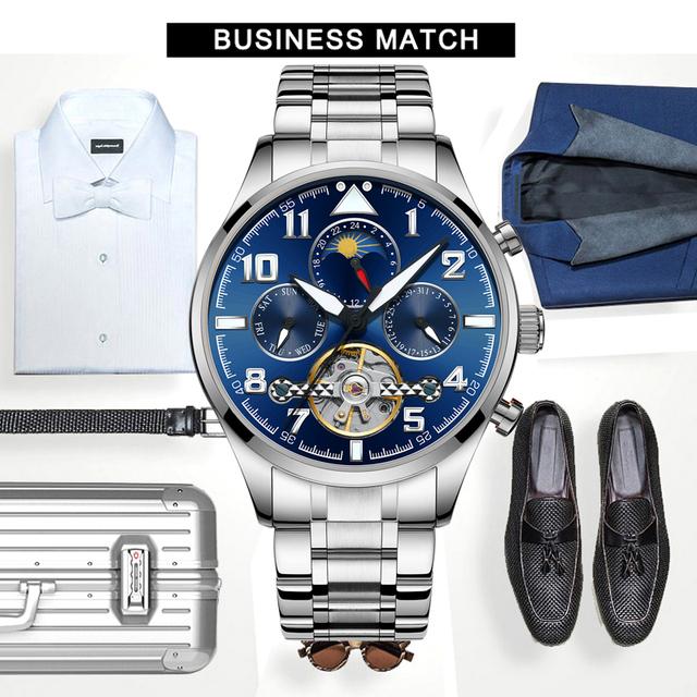 HAIQIN 8626 Mechanical Men watches