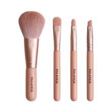 Mini Make-Up Borstel Set Met 4 Stuks Micro Crystal Haar Foundation Blush Oogschaduw Eyeliner Lip Brush brochas maquillaje(China)