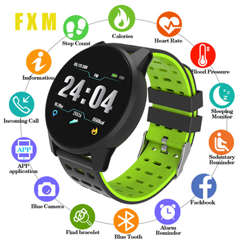 Top Sport Smart Watch Men Women Blood Pressure Waterproof Activity Fitness tracker Heart Rate Monitor Smartwatch for Android ios 2019 m4 plus smartwatch heart rate monitor blood pressure sport bracelet waterproof fitness tracker activity tracker smart watch