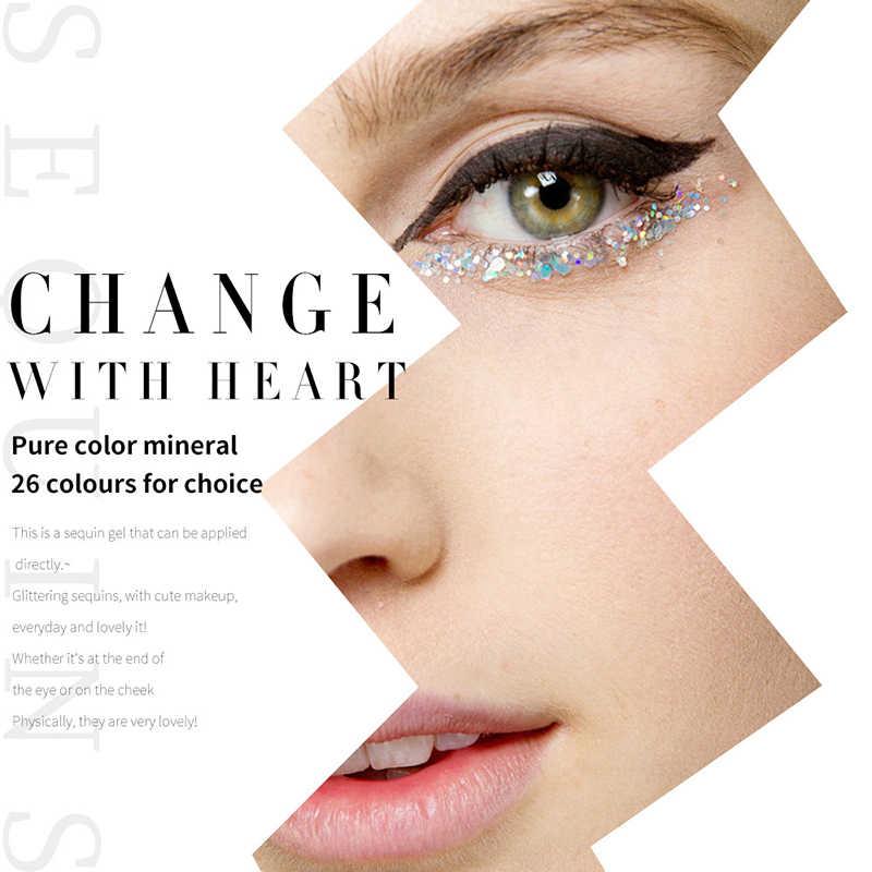 Meilleure vente visage paillettes larmes yeux maquillage paillettes gel crème visage autocollants imperméable facile maquillage outils TSLM1