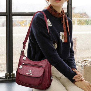 Image 5 - Lanyibaige高級ハンドバッグの女性のデザイナーソフト女性のクロスボディメッセンジャーバッグ女性ヴィンテージショルダーバッグ