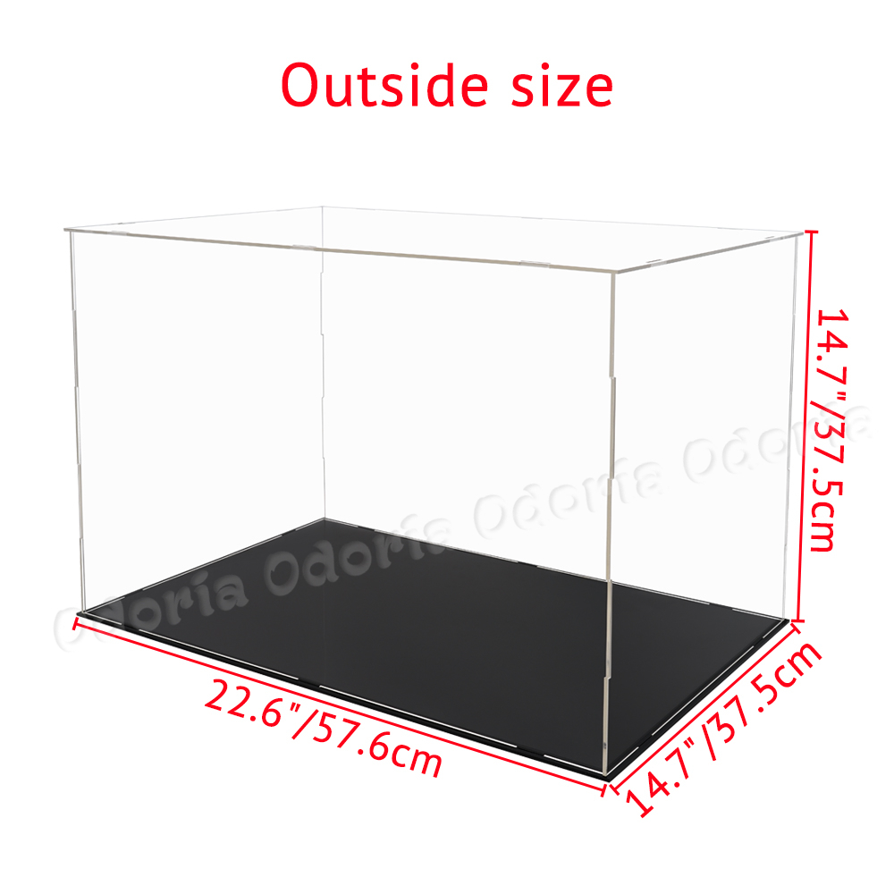 Protection Clear Plexiglas case for Blister Booster Pack UV RESISTANT