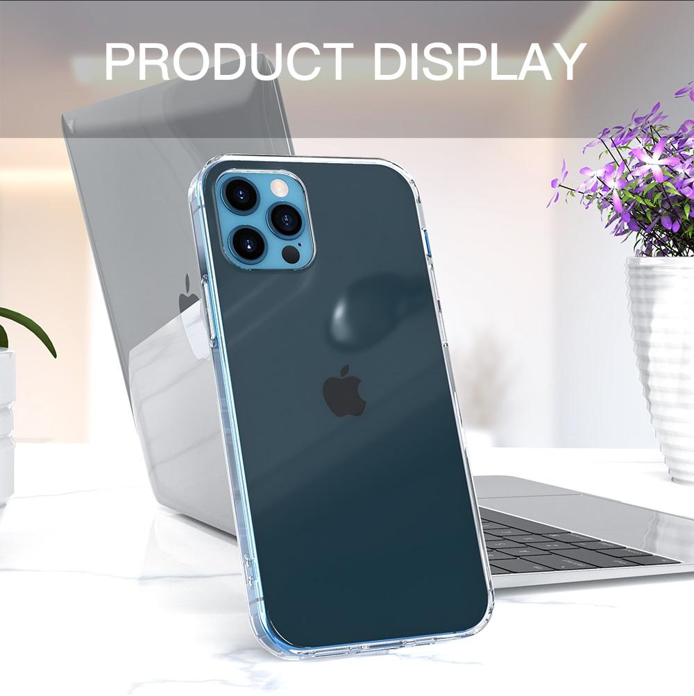 Transparent case for iPhone 12 Pro max