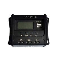 10A 12/24V Solar Controller Intelligent Identification USB Solar Panel Controller RV Home Solar Panel