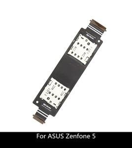 Гибкий кабель для ASUS Zenfone 5 A500CG A501CG T00J A500KL, слот для картридера SD, замена слота для двух SIM-карт
