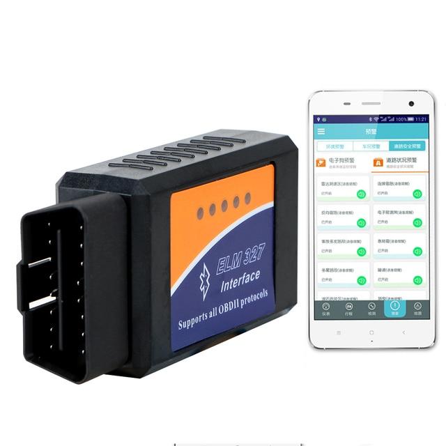 ELM327 Bluetooth Xe Hơi Tự Động Quét OBD2 Máy Quét Ô Tô Mã Xe Chẩn Đoán Dụng Cụ OBD2 Cho Android ELM327 V2.1