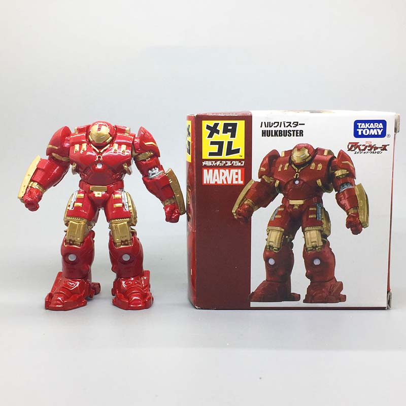 Metal Figure Collection MetaColle Marvel WAR MACHINE TAKARA TOMY NEW from Japan