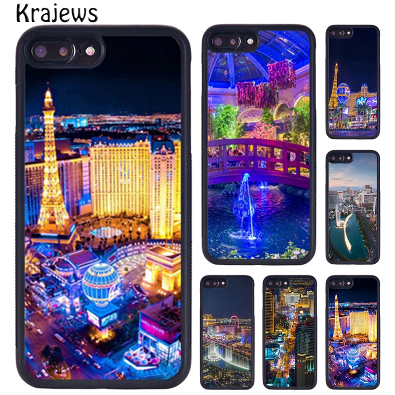 Krajews Las Vegas Strip Nevada Tpu Phone Case For Iphone X Xr Xs 11 Pro Max 5 6 6s 7 8 Plus Samsung Galaxy S7edge S8 S9 S10 On Aliexpress