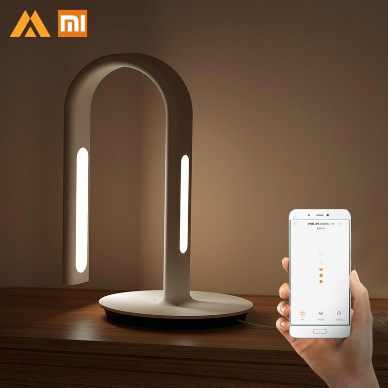 Original Xiaomi Mijia LED Desk Table Lamp 2nd Smart App Control Eyecare Book Reading Light for