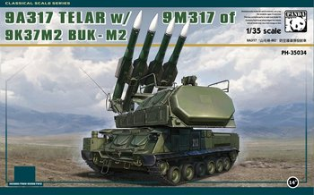 Panda Hobby PH35034 1/35 Sam-17 Buk M2 Air defense missile launcher Display Children Toy Plastic Assembly Building Model Kit realts trumpeter 01024 1 35 ex soviet 2p19 launcher w r 17 missile ss 1c scud b of 8k14 missile system