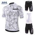 KEMALOCE Rro Radfahren Jersey Set Mountainbike Uniformen Sommer Radfahren Tragen Fahrrad Kleidung Männer Radfahren Kleidung MTB Bike Shirts