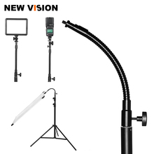 27cm 1/4 śruba metalowe siatka światła LED lampa błyskowa wspornik lampy błyskowej uchwyt na