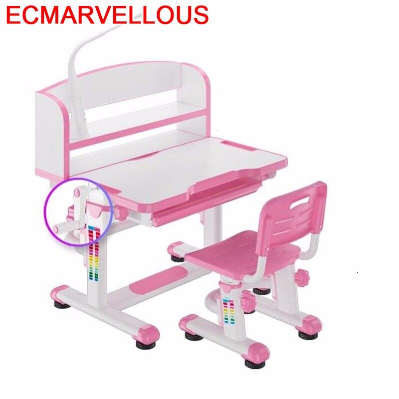 Tavolino Baby Tavolo Per Bambini Avec Chaise Cocuk Masasi Mesinha Adjustable Bureau Mesa Infantil Enfant Kinder Kids Study Table