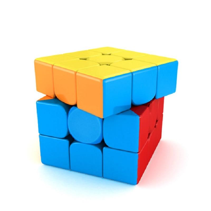 전문 매직 큐브 5.6 cm 어린이 장난감 속도 큐브 3x3x3 연습을위한 고품질 회전 Cubos Magic Cube Competition