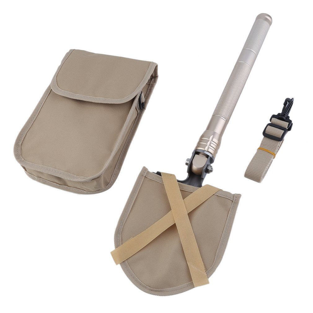 Multifunctional Folding Portable Shovel Outdoor Camping Hiking Trekking Tool Self-Defense Survival Equipment