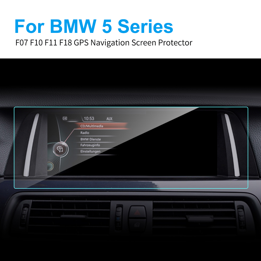 8.8 6.5 10.2 Inch TPU Car GPS Navigation Car Screen Protector For BMW F07 F10 F11 F18 5 Series Protective Film Auto Accessories
