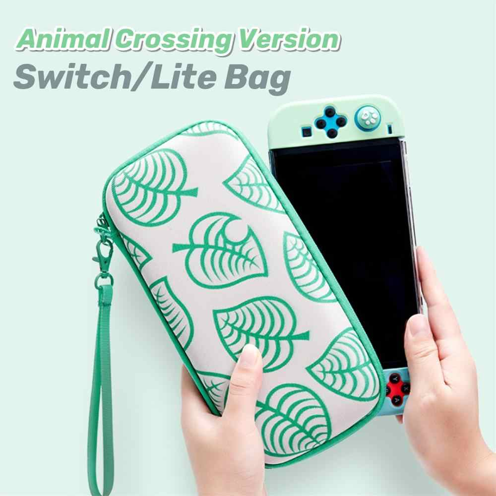 Nintend Switch Lite Animal Crossing Travel Carrying Bag Ns