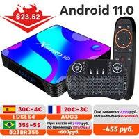 Android 11,0 TV BOX 4k 3D 2,4G y 5,8G Wifi 4k 3D Youtube HDR + alta calidad muy rápido Box 4GB 32GB 64GB 128G ROM