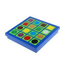 Детская интеллектуальная Развивающая игра головоломка Лабиринт игрушка цветной дизайн игра