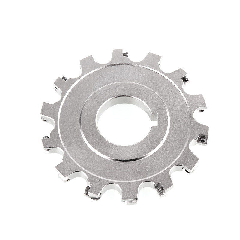 CNC Side And Face Milling Cutter Plate Keyway-Blades Cutterhead T-Slot End Face Milling Cutter Plate Two-sided Edge 80mm100mm