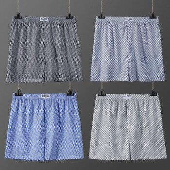 Men's Underpants Boxers Breathable Pants Cool Loose Boxer Men Pure Cotton Man's Underwear Soft Boxershorts Men Underwear men s soft breathable cellulose fibre spandex boxers underpants black red xxxl