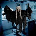 Хэллоуин подвесной череп голова привидение дома побег ужасов реквизит-украшение для Хэллоуина вечерние украшения для дома жуткий страх