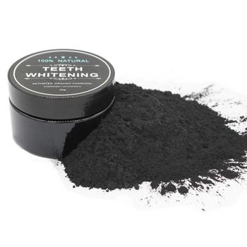 Coconut Shells Activated Carbon Teeth Whitening Organic Natural Bamboo Charcoal Toothpaste Powder Wash Your Teeth White 30g tooth whitening powder activated bamboo charcoal toothpaste tartar stain removal natural teeth whitening charcoal powder