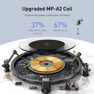Image 3 - Baseus 15W Drahtlose Ladegerät Für iPhone 11 X XS Max XR Airpods Pro Qi Drahtlose Schnelle Lade Pad Für samsung S10 S9 S8 Xiaomi