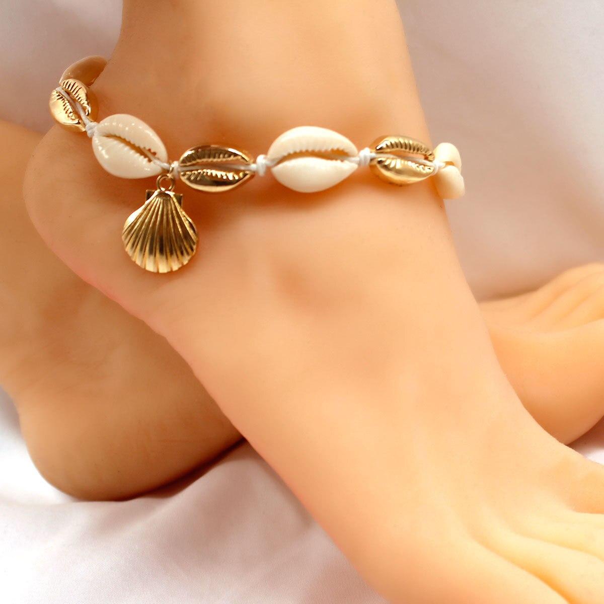 bracelet cheville femme boheme