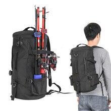 Rompin Fishing Bag Portable Backpack Fishing Tackle Storage Rod Holder Tools Carrier 23L Big Capacity Multipurpose Outdoor Bag