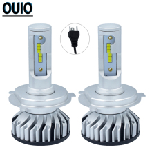 2PCS H4 Led F2 CSP Headlight Bulbs 12V Car Fog Light 76W 16000LM H1 H7 H3 H8 H9 H11 9012 9005 9006 Super Bright Auto Head Lamp