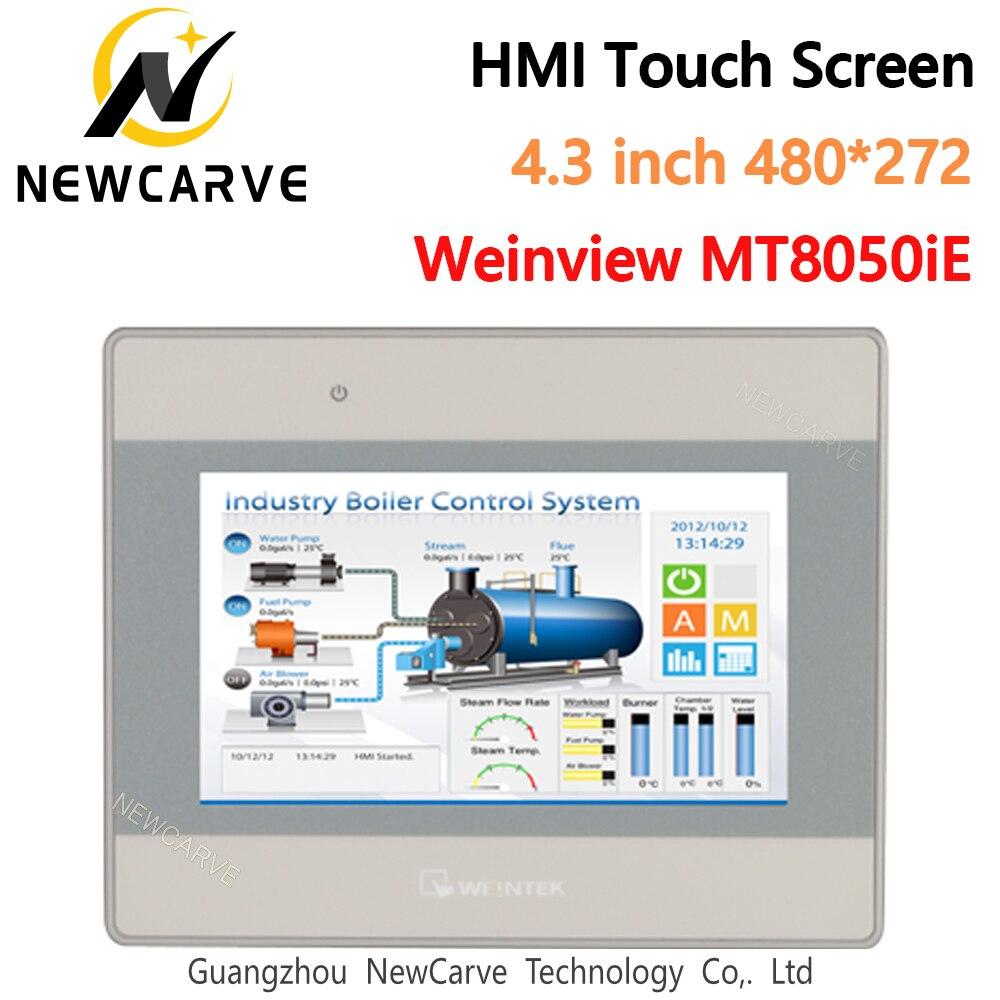 MT8050iE écran tactile HMI 4.3 pouces 480*272 WEINVIEW/WEINTEK TFT LCD USB Ethernet nouvel affichage dinterface de Machine humaine NEWCARVE