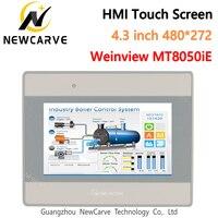Mt8050ie hmi tela sensível ao toque 4.3 Polegada 480*272 weinview/weintek tft lcd ethernet usb nova interface de máquina humana exibição newcarve