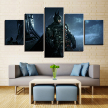 Wall Pictures Decor Home Living Room Or Bedroom 5 Pieces HD Printing Movie Posters Batman Canvas Paintings Modular Framework Art decor home hd printed canvas wall art modular pictures 5 pieces harry potter school castle paintings living room movie posters