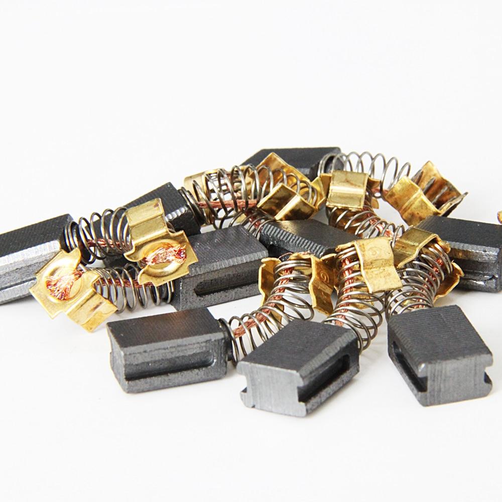 F-MINGNIAN-TOOL Escobillas de carb/ón 6x9x11.5mm 5 Pares for Makita Motores El/éctricos CB 406 407 418 419 CB406 CB407 CB418 CB419