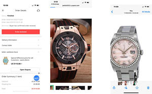 Special Difference price for old Customers : 3 watches