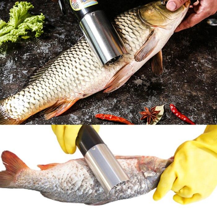 À prova dwaterproof água elétrica peixe scalers