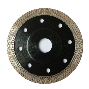 High Hardness Metal Alloy Ceramic Diamond Saw Blade Dry And Wet Dual Use Cutting Disk