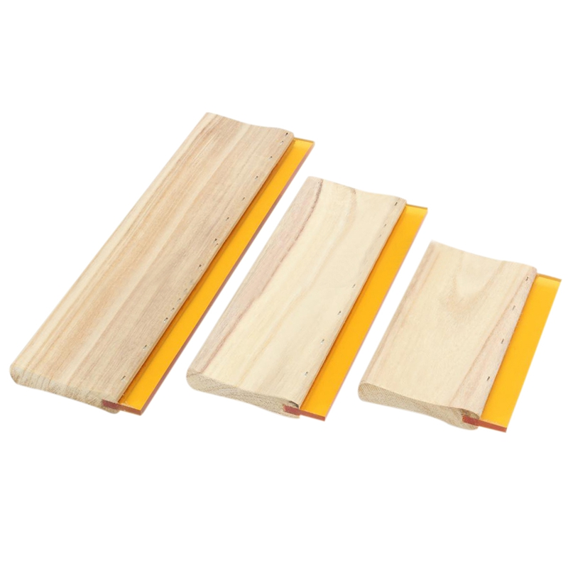 3 Pcs Silk Screen Printing Squeegee Ink Scaper Scratch Board Tools 16cm 24cm 33cm