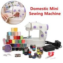 Portable Electric Sewing Machine Set Stitch Sew needlework Cordless Clothes Fabrics LED Lightweight Handheld Sewing Machines