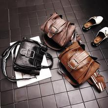цена на Luxury Women Handbags  Leather Shoulder Bag for women Big Tote Bag Fashion Messenger Crossbody Bags for Women Rivet decoration