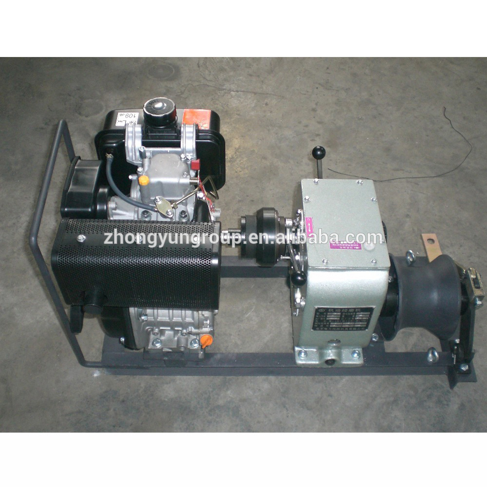 Widely used 3 Tons cable pulling hydraulic winch