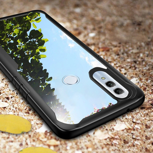 Image 1 - Case For Honor 10 Lite Case Shockproof Rugged Bumper Transparent Soft TPU Silicon Phone Protector Cover For Huawei P Smart 2019