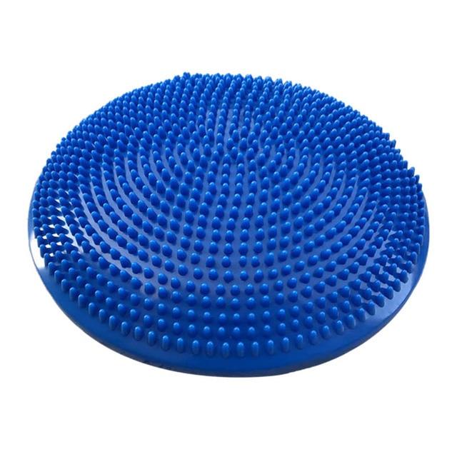 Hot 3C Yoga Blue Balanced Mats Massage Pad Cushion Balance Disc Balance Ball Riot Yoga Cushion Ankle Rehabilitation Cushion Pad