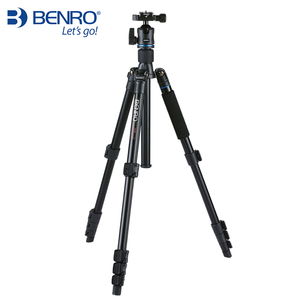 Image 3 - Benro IT25 SLR Camera Tripod For SONY Canon Nikon Flexible Aluminium Alloy Tripod Portable Bracket Professional Tripod Head Set
