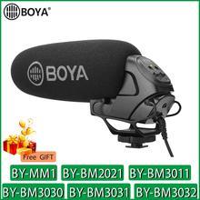 BOYA BY MM1 BY BM2021 BY BM3011 BY BM3030 BY BM3031 BY BM3032 Micro Caméra Vidéo Micro pour Canon Nikon Sony DSLR Caméscope