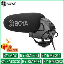 BOYA BY MM1 BY BM2021 BY BM3011 BY BM3030 BY BM3031 BY BM3032 Mikrofon Kamera Video Mic für Canon Nikon Sony DSLR Camcorder